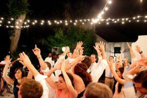 wedding entertainment dance floor